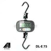 Jual DLE Timbangan Gantung Digital Electronic Hanging Scale 75 Kg Murah