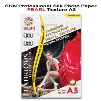 Kertas Foto - SUN Professional Silk Photo Paper 265 A3 PEARL Texture