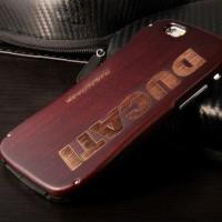 Jual Draco Ducati Aluminium Wood Iphone 6 Hitam Murah