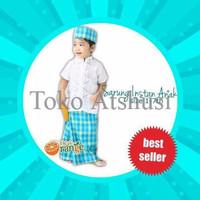 Jual NEW Sarung Instan+Peci Anak merk Orange PALING MURAH Murah