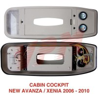 AKSESORIES MOBIL CABIN COCKPIT ROOF CONSOLE AVANZA XENIA 2005 2010