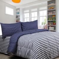 Jual Bed Cover Set King size - Sierra Retro x Dottie Baby Sapphire Murah