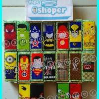 Jual baterai wrap super Hero,baterai warp,baterai wrap,battery PVC,batre Murah