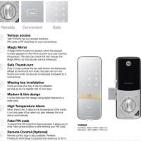 Jual Kunci Pintu Digital YALE YDR 323 / Digital Door Lock YDR 323 Murah