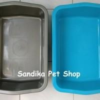 Litter Box / Bak Pasir Kucing Ukuran S / Kecil , Hanya Gojek / Grab