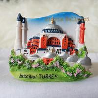 Jual SOUVENIR TEMPELAN MAGNET KULKAS ISTANBUL TURKIYE TURKEY Murah