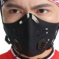 Masker Sepeda Dan Motor Anti Polusi Filter Standar Eropa