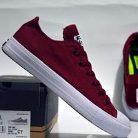 promo sepatu casual unisex converse ct low original premium 2 warna si