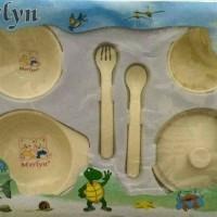 Jual Baby Feeding Set / Perlengkapan Makan Bayi BPA Free Murah