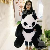 boneka beruang panda duduk Teddy Bear jumbo