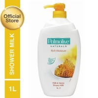 PALMOLIVE NATURALS RICH MOISTURE MILK & HONEY SHOWER MILK 1 LITER 1L