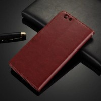 CASING CASE HP PREMIUM LEATHER KULIT MODEL DOMPET COVER OPPO F1S F1 S