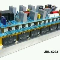 KIT POWER AMPLIFIER LAPANGAN JBL 6293 +TR Sanken 8 set