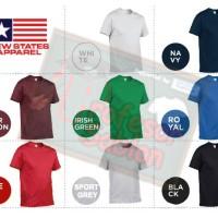 Jual Kaos Polos  NSA SOFT ( New State Apparel ) persis GILDAN softstyle XXL Murah