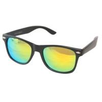 Jual Retro Aviator Sunglasses Eyewear Mirrored Lens RAS 0100 GOLD MERCURY - Murah