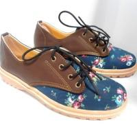 Jual VRQ Sepatu Kets Floral Docmart ND01 Murah