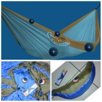 hammock ticket to the moon double blue/grey Grosir