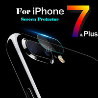 Jual AIBILI 0.3mm Tempered Glass Camera Lens Protector for iPhone 7 Plus Murah