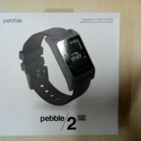 Smartwatch Pebble 2 SE ( Standard Edition ) Hitam / Black