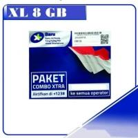 XL KUOTA 8 GB | XTRA COMBO | KARTU PERDANA INTERNET XL KUOTA 8GB