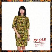 Dress Batik Modern Elegan - Limited