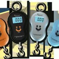 Jual Terlaris TIMBANGAN DIGITAL GANTUNG BULAT 40 KG portable Murah