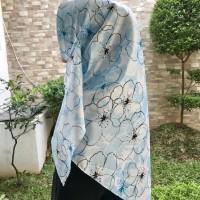 Jilbab Segi Empat Bahan Satin Silk