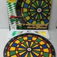Jual Safety Darts Board Papan Dart Diameter 40 cm Terlaris Murah