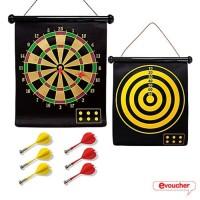 Jual safety magnetic dart game set 6 magnet arrow medium Promo Murah