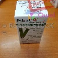 Jual Strip Nesco gula darah / glucose Limited Murah