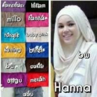 Jual Jilbab Instant Hanna CHSI / hijab Diskon Murah