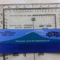 Douglas Protractor Da 0884 / Navigasi Pemetaan Medan / Orientering -