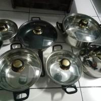 Jual Panci Set Niko Nk1113sp Cookware 6 Set Murah