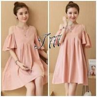 Jual x93 Babol angelia Bahan twiscone ld 100 mini dress Murah