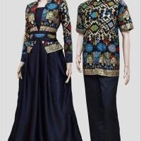 Jual Batik couple kebaya Sarimbit GAMIS Sepasang Barong Syari Pesta Pekalon Murah