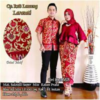Jual Lonceng Terompet Batik Couple Modern Kebaya Larasati Baloteli Sarimbit Murah