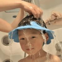 Jual Topi Keramas Anak / Topi Mandi Anak / Memandikan Anak Jadi Lebih Aman Murah