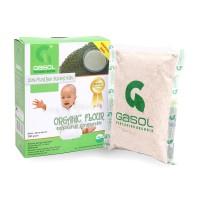 Jual GASOL Tepung Organik Rasa Kacang Hijau 200Gr / Makanan Bayi   Murah
