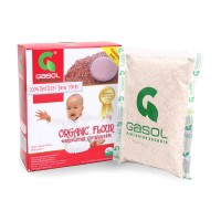 Jual GASOL Tepung Organik Rasa Beras Merah 200Gr / Makanan Bayi Murah