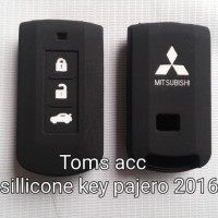 Silicone Key/Kondom/Sarung Kunci Mobil Pajero Sport 2016/Outlander/L
