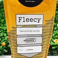 Jual [ COFFEE / KOPI ] FLEECY SCRUB FACE AND BODY SCRUB BPOM (CC) Murah