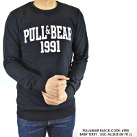 SWEATER SWITER HOODIE PULL AND BEAR PULL&BEAR 1991 NAVY POLOS COWO