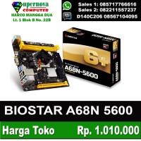 BIOSTAR A68 5600 PLUS ON BOARD AMD A10 4655