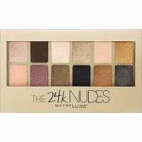 Jual MAYBELLINE THE 24K NUDES PALLETE EYE SHADOW GOLD MAYBELINE NEW PRODUCT Murah