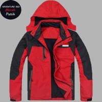 Jual Jaket Waterproof Adventure BENDERA INDONESIA /Jaket Gunung/Jaket Bola Murah