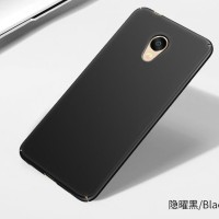 Hardcase Coating Dove Black Matte Hard Case Cover Casing Meizu M5 Note