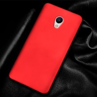 Hardcase PC Coating Dove Red Matte Hard Case Cover Casing Meizu MX6