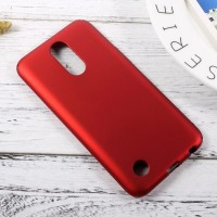 Hardcase PC Coating Dove Red Matte Hard Case Cover Casing LG K10 2017