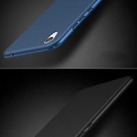 Hardcase PC Coating Black Matte Hard Case Cover Casing Sony Xperia XA