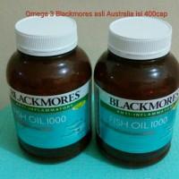 Jual Blackmores Omega 3 Anti-Inflammatory Fish Oil 1000mg 400softgell Murah